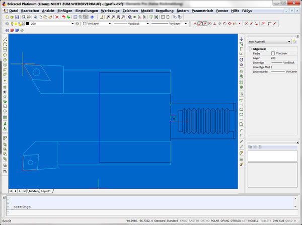 FASYS   2D tools with BricsCAD