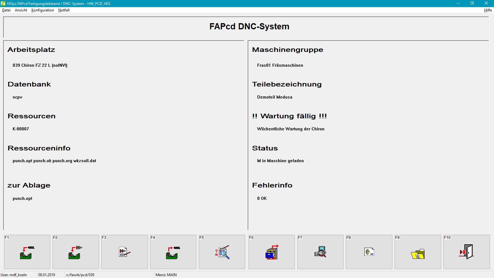 FASYS | DNC-Client
